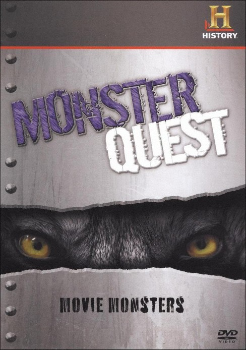 Monsterquest:Movie monsters (DVD) - image 1 of 1