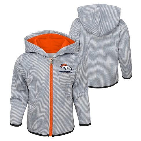 309321b7 NFL Denver Broncos Toddler Cheer Loud Sublimated Full Zip Hoodie