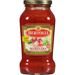 Bertolli Traditional Marinara with Italian Herbs & Fresh Garlic Pasta Sauce - 24oz