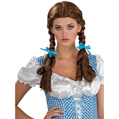 Rubie's Wizard Of Oz Deluxe Dorothy Costume Wig