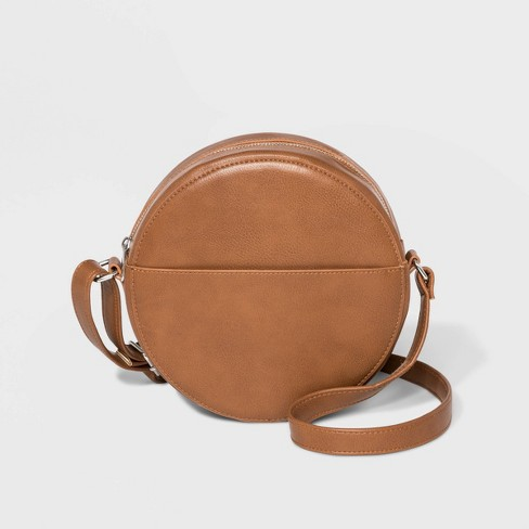 Canteen Crossbody Bag - Wild Fable™ Brown - image 1 of 2