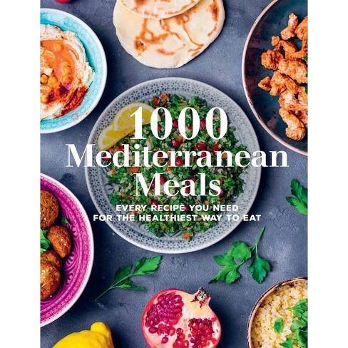 1000 Mediterranean Meals - (1000 Meals) (Hardcover) - image 1 of 1