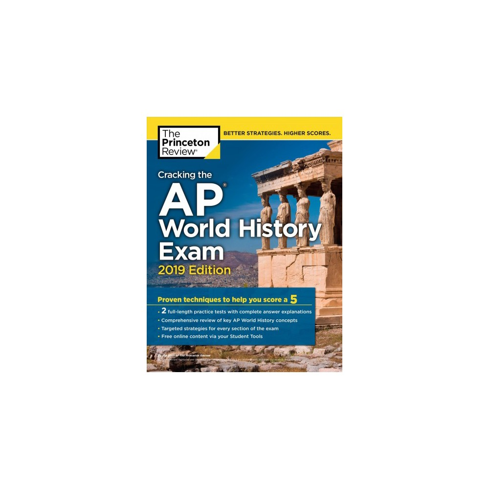 Princeton Review Cracking the AP World History Exam 2019 - (Paperback)