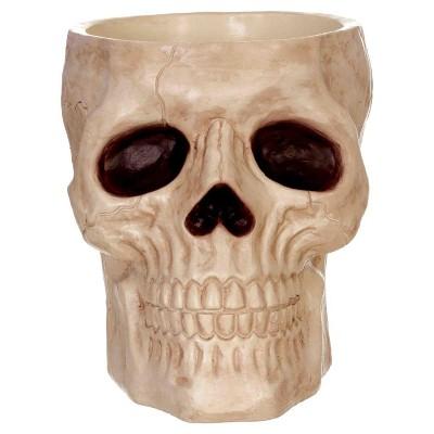 Halloween 8  Skull Candy Bowl