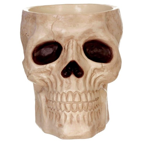 "Halloween 8"" Skull Candy Bowl - image 1 of 1"