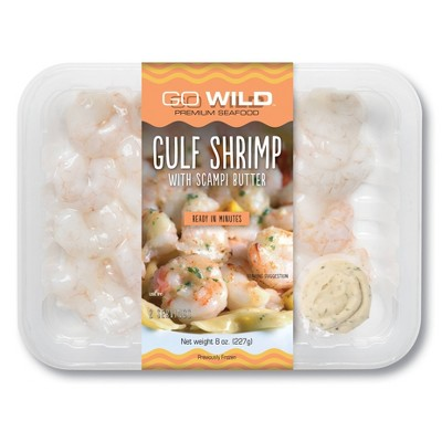 Go Wild Shrimp with Scampi Butter - 8oz