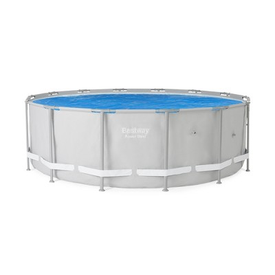 Bestway 15ft Round Above Ground Swimming Pool Solar Heat Cover Pool Not Included