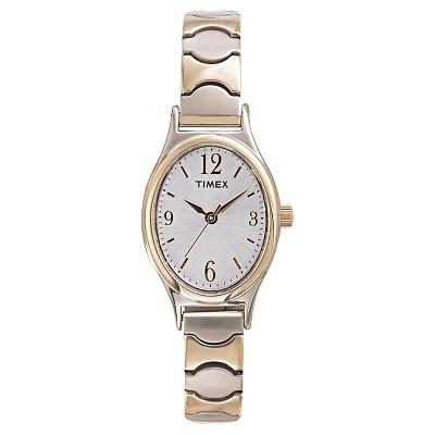Women's Timex Expansion Band Watch - Two-Tone T263019J