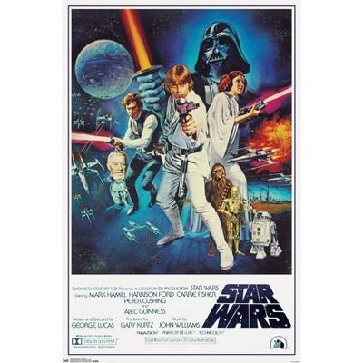 "24"" x 36"" Star Wars: A New Hope - One Sheet Unframed Wall Poster Print - Trends International"