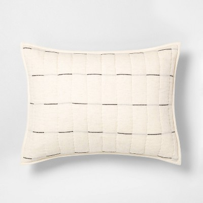 Broken Stripe Pillow Sham - Hearth & Hand™ with Magnolia