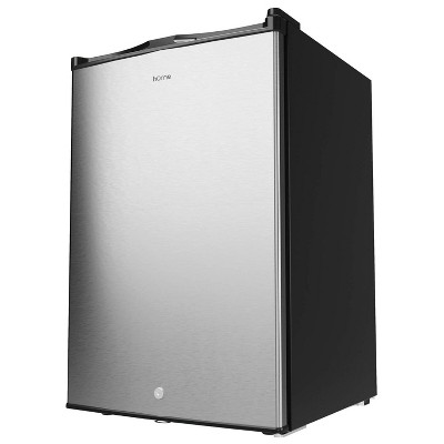 hOmeLabs HME030360N Compact 3.0 Cubic Feet Single Door Freestanding Electric Mini Freezer with Integrated Child Safety Lock, 2 Keys Included