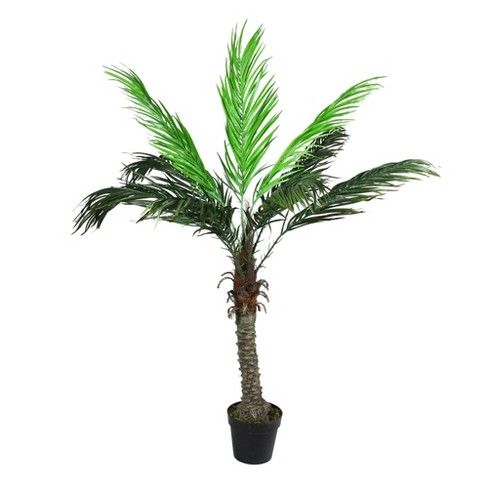 Northlight 4.8' Unlit Artificial Potted Phoenix Palm Tree - image 1 of 2