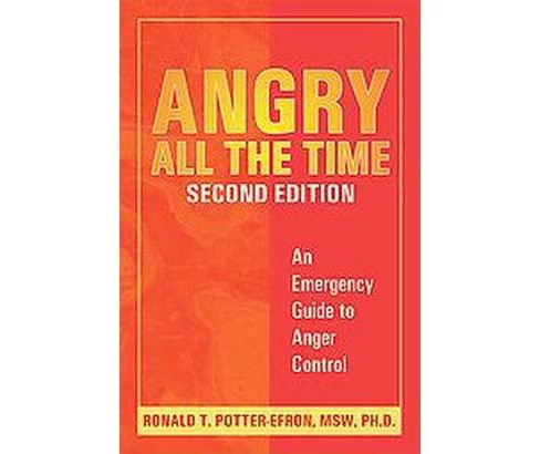 Angry All The Time : An Emergency Guide To Anger Control (Paperback) (Ronald T. Potter-Efron) - image 1 of 1
