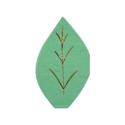 Meri Meri Green Leaf Napkins