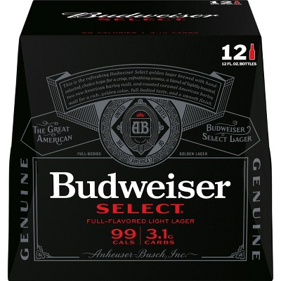 Budweiser Select Beer - 12pk/12 fl oz Bottles