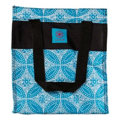 Gaiam Lunch Tote - Blue Batik