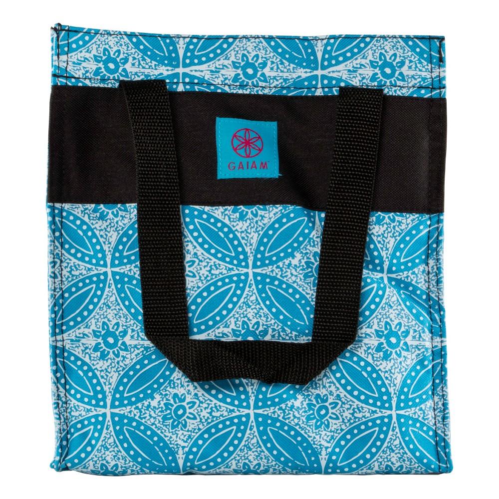 Image of Gaiam Lunch Tote - Blue Batik