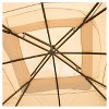 Westerly 13' x 13' Steel Patio Gazebo - Camel - Christopher Knight Home - image 4 of 4