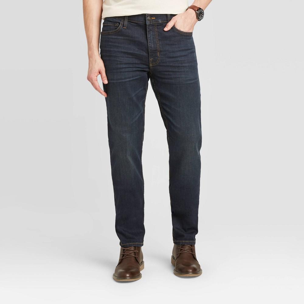Men 39 S Slim Fit Jeans Goodfellow 38 Co 8482 Indigo Blue 32x30