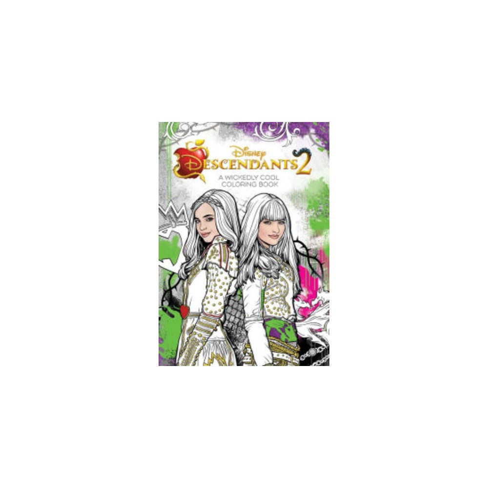 Descendants 2 Wickedly Cool Coloring Book (Paperback) (Disney Book Group)