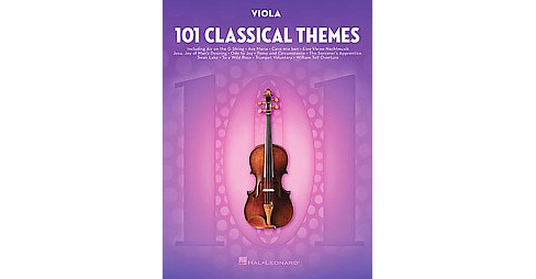 101 Classical Themes for Viola (Paperback) - image 1 of 1
