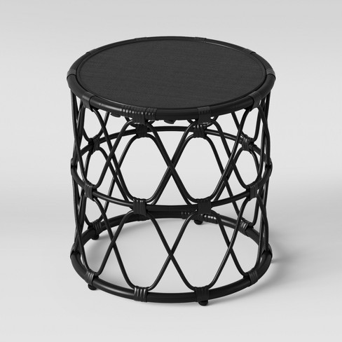 Jewel Round Side Table Black Opalhouse Target