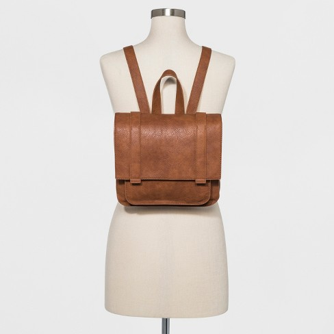 92f11afc81 Square Flap Backpack - Universal Thread™ Cognac   Target