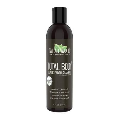 Taliah Waajid Total Body Black Earth Shampoo - 8 fl oz