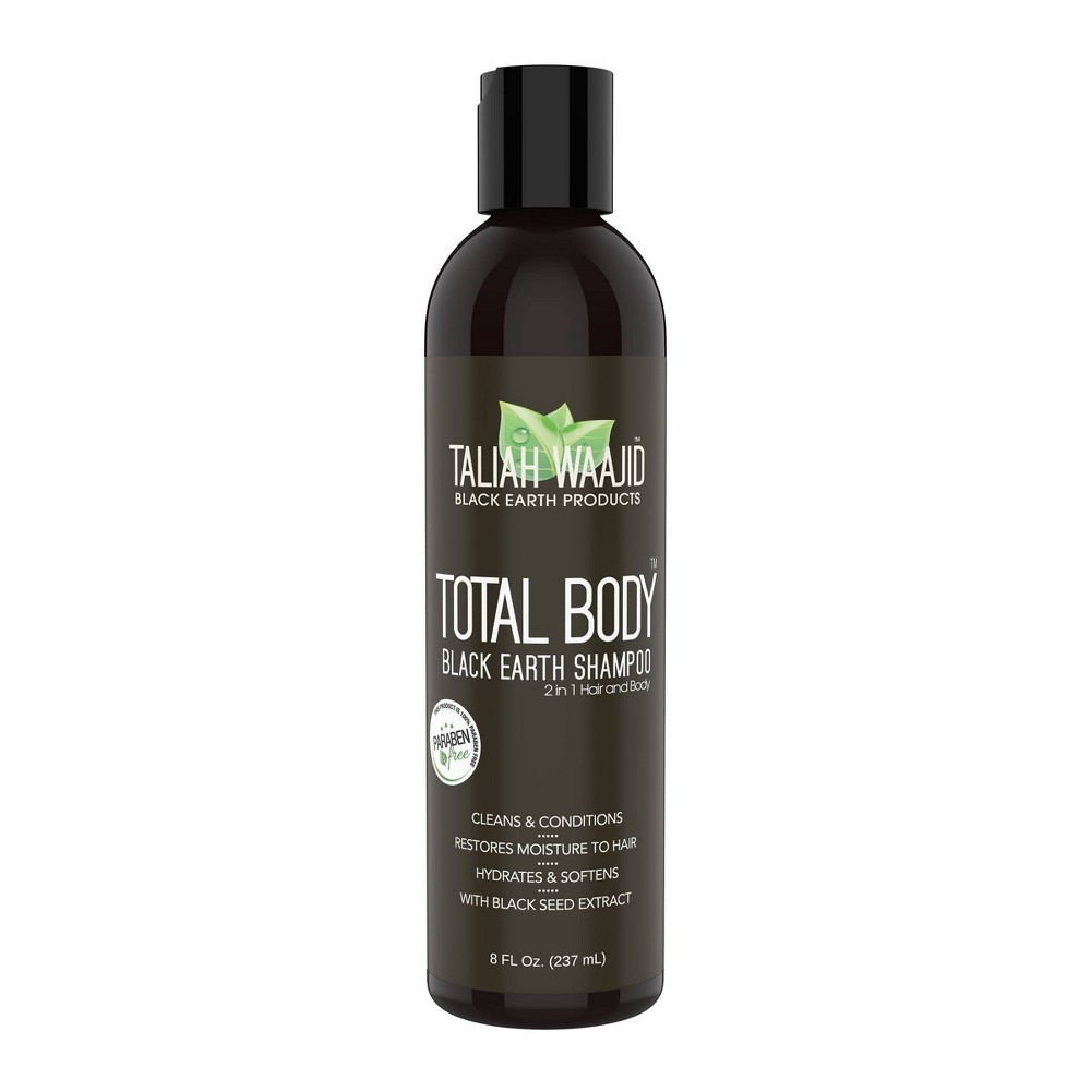 Image of Taliah Waajid Total Body Black Earth Shampoo - 8 fl oz