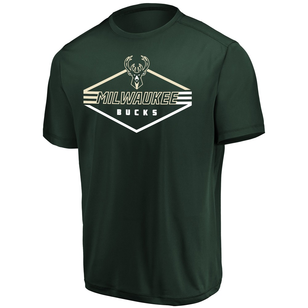 Milwaukee Bucks Men's Appreciate the Journey Performance T-Shirt S, Multicolored