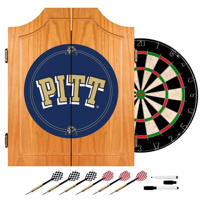 NCAA Wood Dart Cabinet Set - image 1 of 1