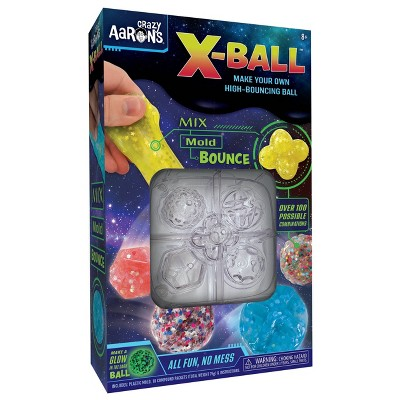 Crazy Aaron's X-Ball Make Your Own High-Bouncing Ball Kit