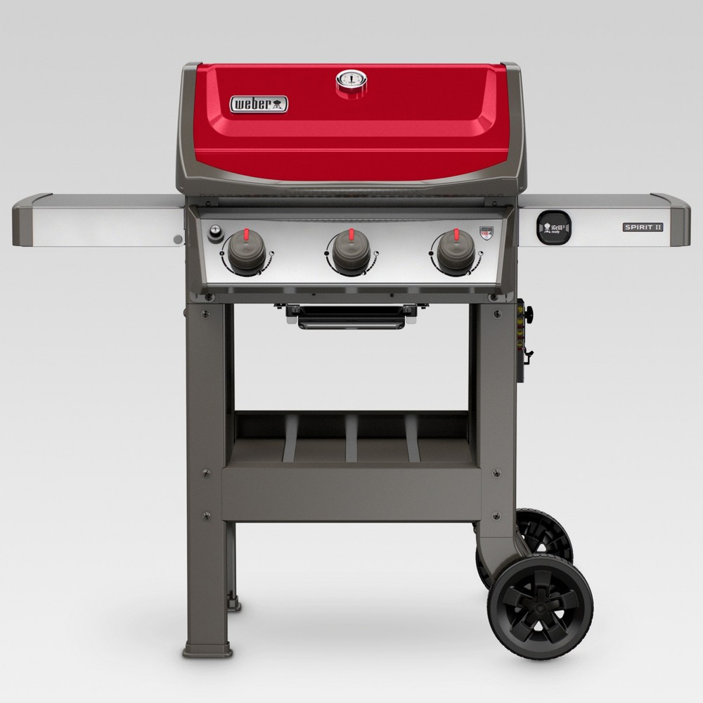 Weber Spirit II E-310 LP Gas Grill – Red 52574782