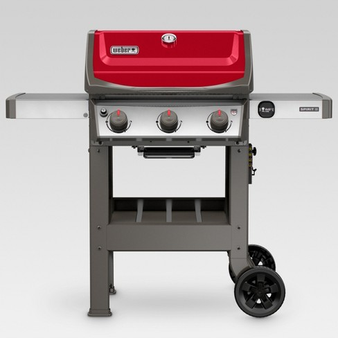 Weber Spirit II E-310 LP Gas Grill - Red - image 1 of 16