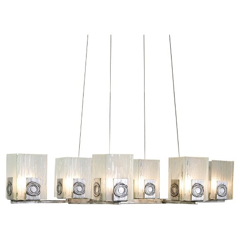 Polar 6 Light Linear Pendant - Blackened Silver - image 1 of 3