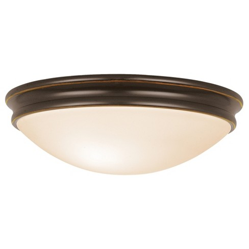 Access lighting 14 atom 3 light flush mount oil rubbed bronze about this item aloadofball Image collections