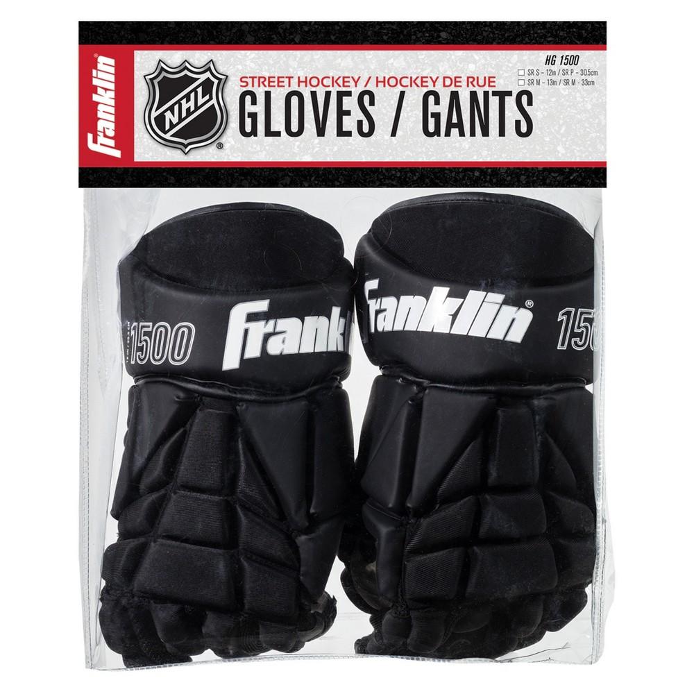 Franklin Sports HG 1500: Hockey Gloves-Senior Small 12, Black