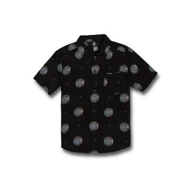 Volcom Toddler Boys Inner Valley Short Sleeve Button Down Shirt