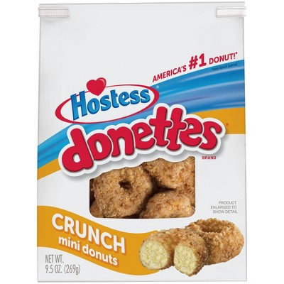 Hostess Crunch Donettes - 9.5oz
