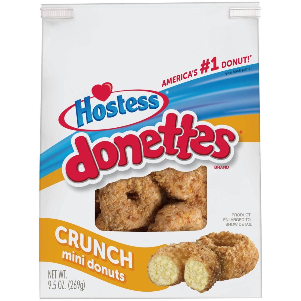 Hostess Crunch Donettes 9 5oz