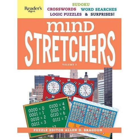 Reader's Digest Mind Stretchers Puzzle Book Vol. 5, Volume 5 - (Mind Stretcher's) by  Allen D Bragdon (Spiral Bound) - image 1 of 1