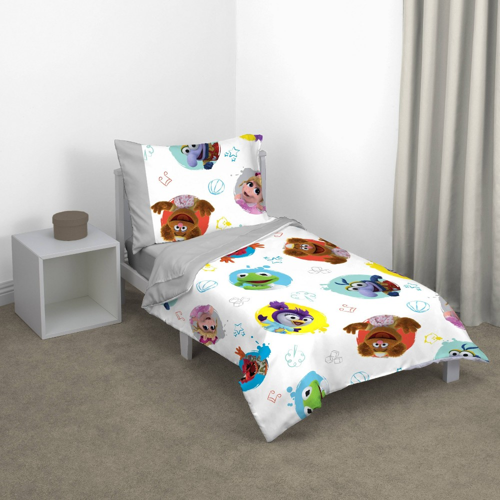 Image of Disney Muppet Babies 4pc Toddler Bedding Set