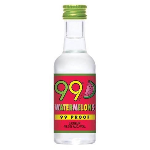 99 Watermelons Liqueur - 50ml Plastic Bottle - image 1 of 1