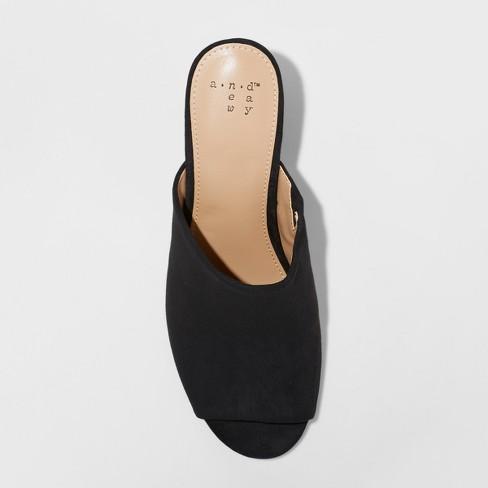 9717b459cec Women s Didi Block Heel Mules - A New Day™   Target