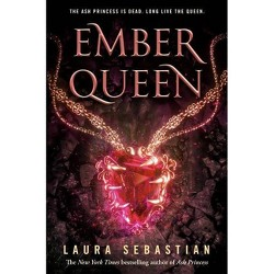 Ember Queen - (Ash Princess) by  Laura Sebastian (Hardcover)