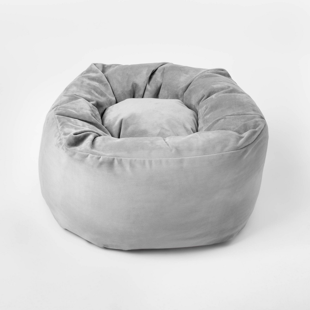 Super Sensory Friendly Cocoon Seat Gray Pillowfort Beatyapartments Chair Design Images Beatyapartmentscom