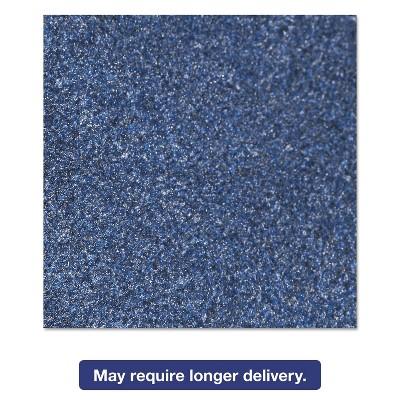 3'x5' Rectangle Solid Floor Mat Blue - Crown
