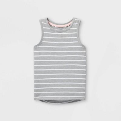 Toddler Girls' Tank Top - Cat & Jack™ Gray