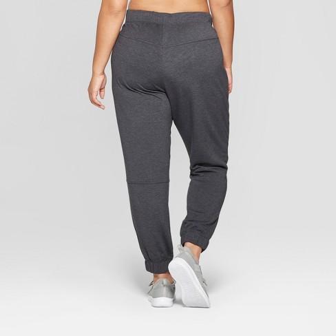 b3a90d5d323 Women s Plus Size Fleece Sweat Pants - JoyLab™ Black 3X   Target