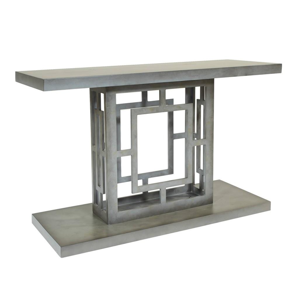 Imola Foyer Table Iron Gray - Osp Home Furnishings